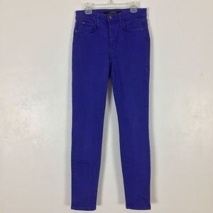 Joes Jeans High Rise Skinny Ankle Fit Surf Wash